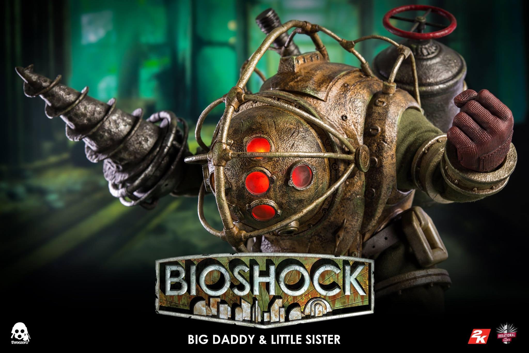 threezero BIOSHOCK - 1:6 Big Daddy & Little Sister17