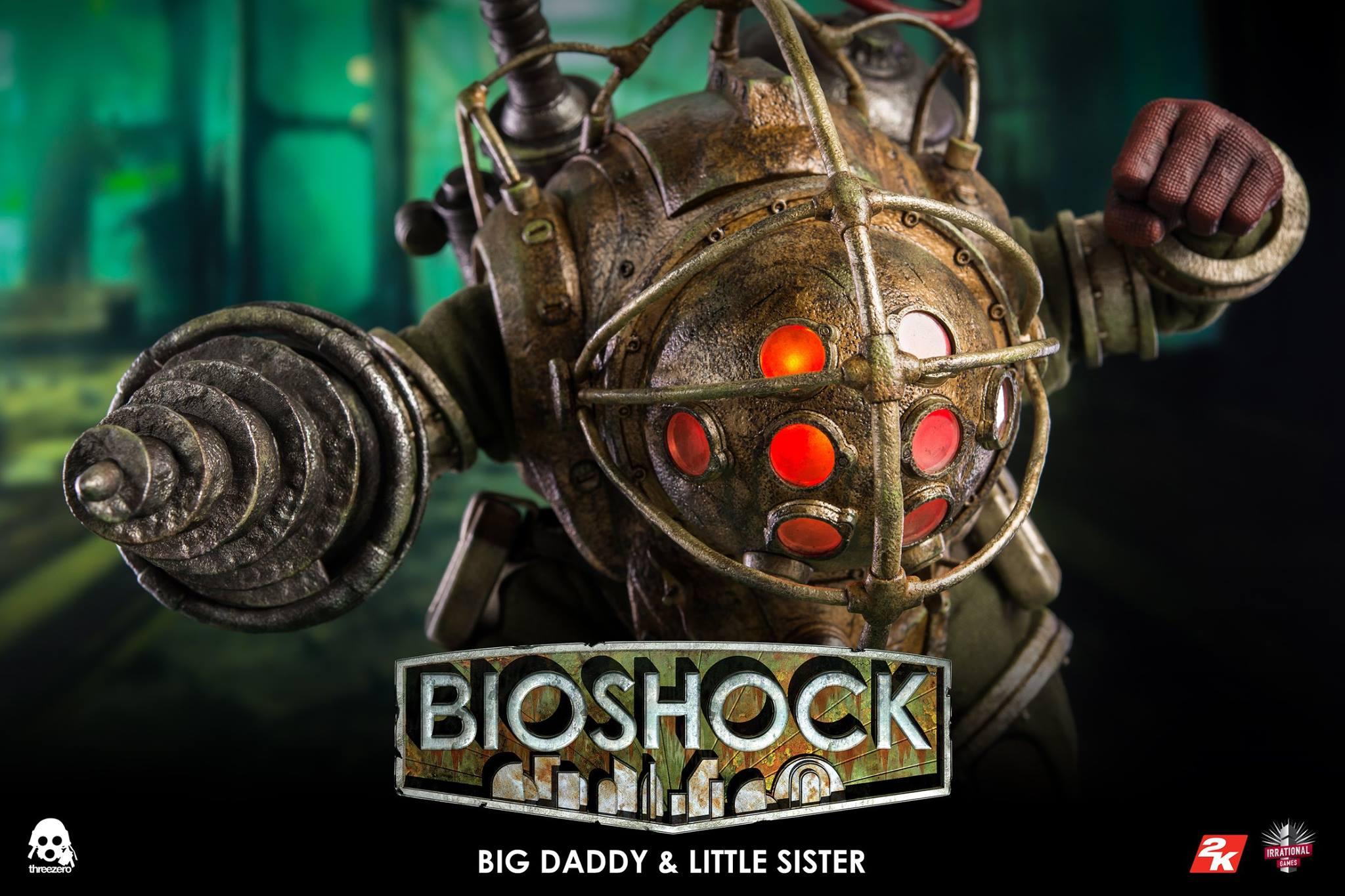 threezero BIOSHOCK - 1:6 Big Daddy & Little Sister18
