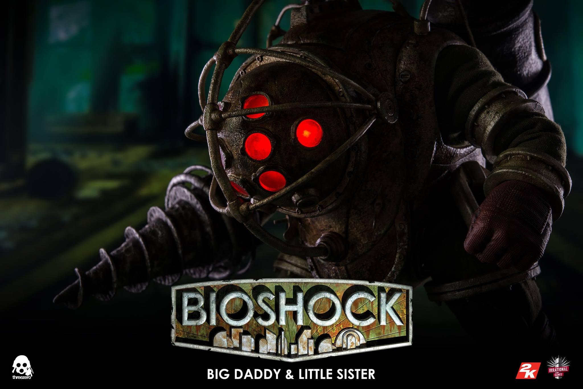 threezero BIOSHOCK - 1:6 Big Daddy & Little Sister19