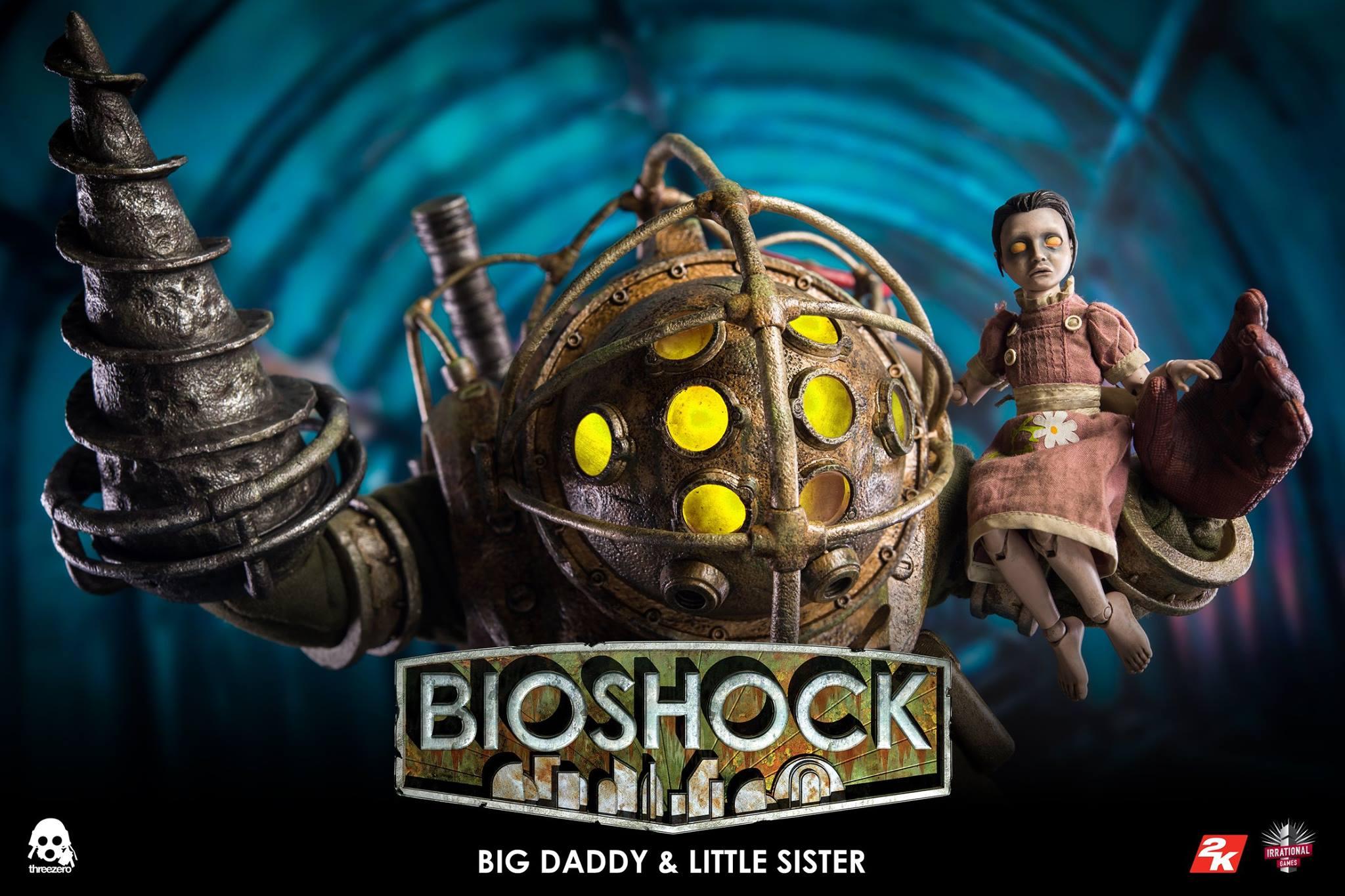 threezero BIOSHOCK - 1:6 Big Daddy & Little Sister6