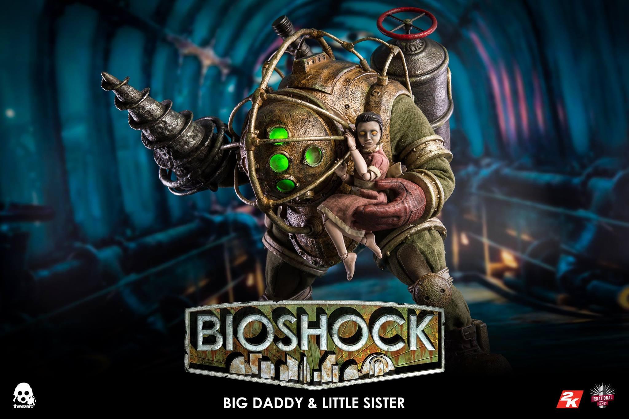 threezero BIOSHOCK - 1:6 Big Daddy & Little Sister8